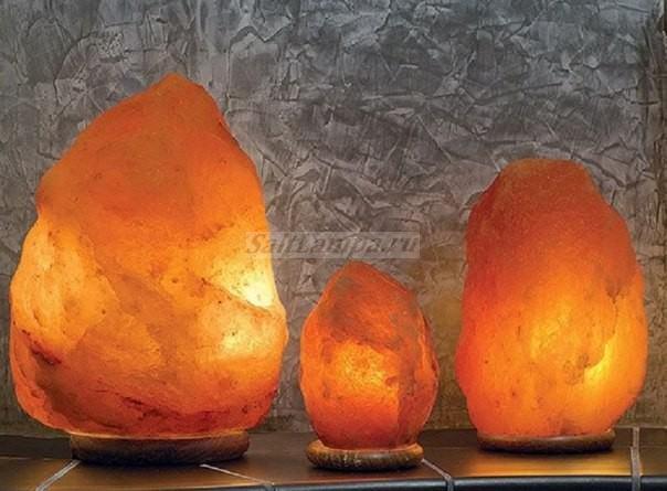 Солевые светильники своими руками