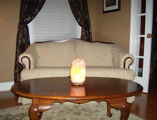 Зачем нужна солевая лампа