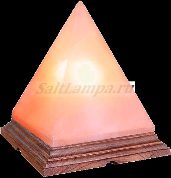 Солевая лампа Пирамида 4-5 кг